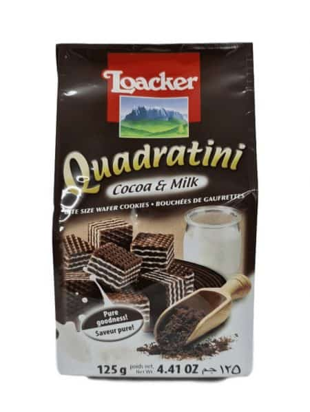 לואקר-קוביות וופלים שוקולד-קאקאו