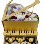 פסנתר פרחים
